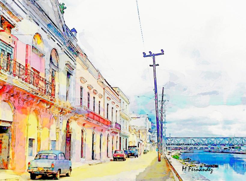 Calle Rio In Matanzas Cuba