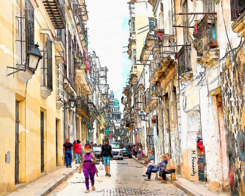 Street in Havana,
